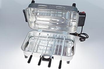 Severin Elektrogrill Mit Haube : Taner tnriz1700 barbecue elektrogrill mit haube elektrischer tisch