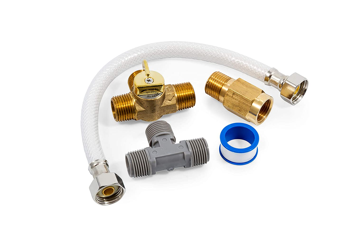 Camco 35713 1/2' Seasonal Water Heater By-Pass Kit - Lead Free