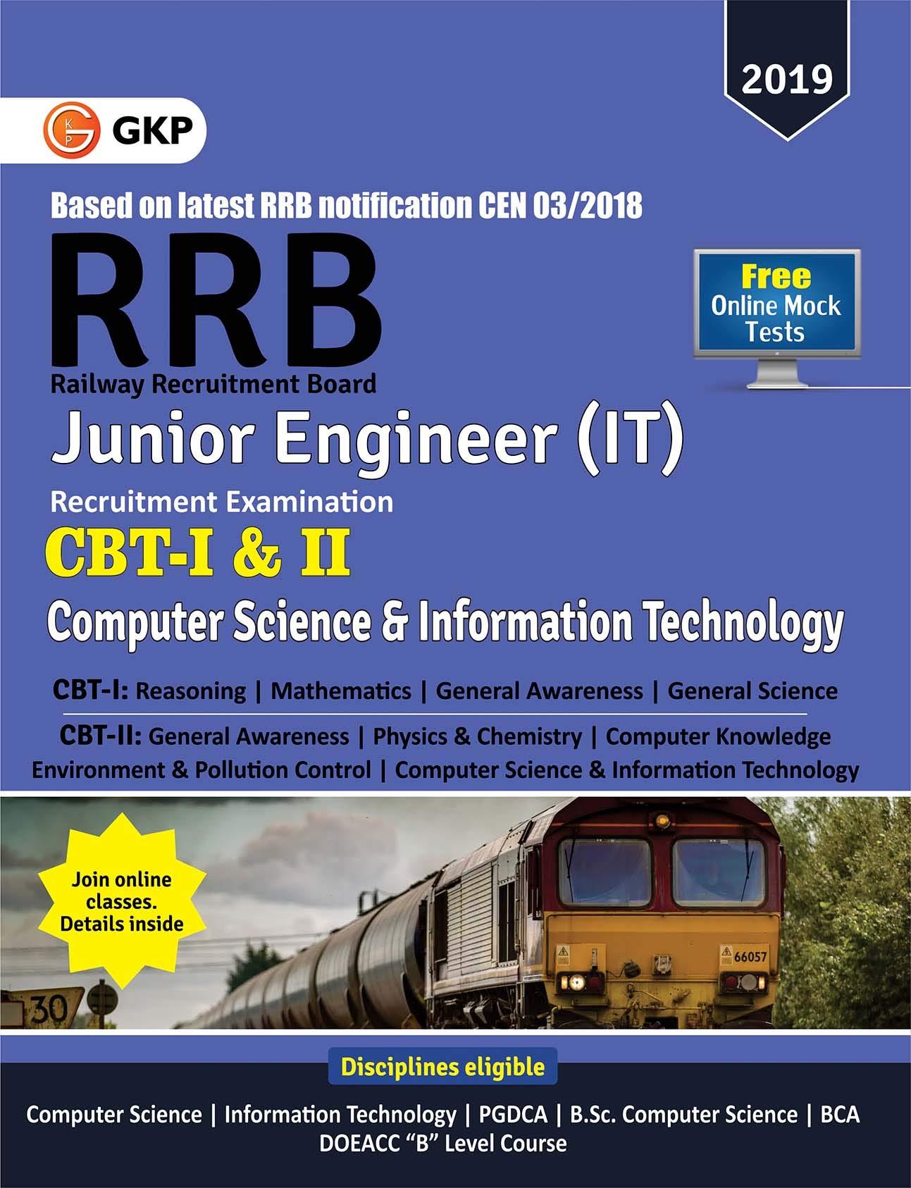 Buy RRB (Railway Recruitment Board) 2019 - Junior Engineer