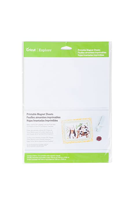 photograph relating to Printable Magnetic Sheets known as Provo Craft Cricut 2002744 Printable Magnetic Sheets: Amazon