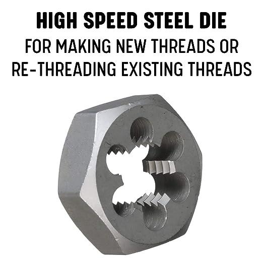 DWT Series Drill America 1//4-20 High Speed Steel Hex Die