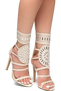 5d7782e8b7ea Herstyle Women s Fashion Crowd Sunda Stiletto Heel