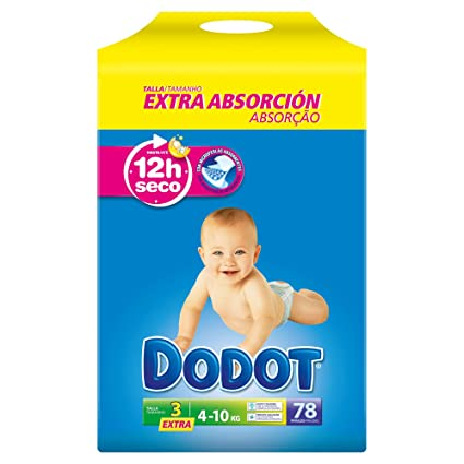 Pañales Dodot Extra T3 78 uds