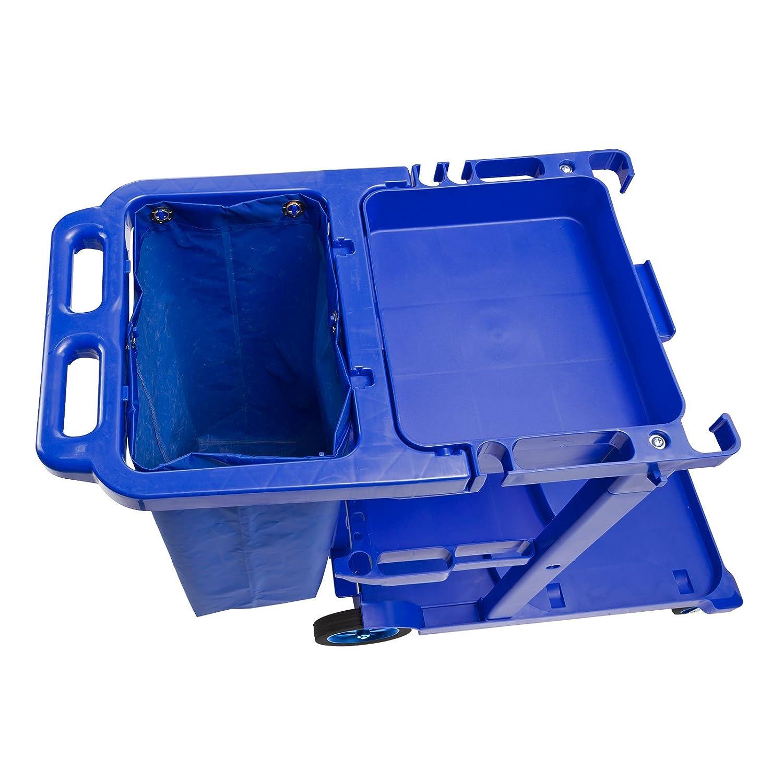 DEMA Putzwagen blue