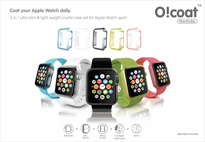 Amazon.com: 42 mm Apple Watch Case - OZAKI O!coat Wardrobe 5 ...