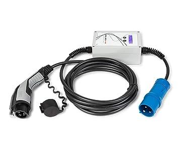 Cargador portátil coches eléctricos - EV Portable SAE J1772 32A: Amazon.es: Coche y moto