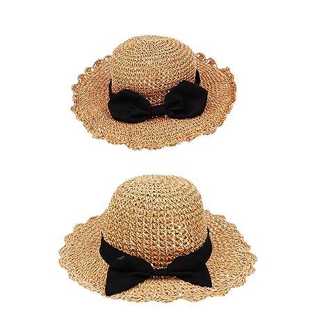 Baoblaze Sombrero de Paja Plegable de Padres + Niños Juguetes de Primera  Infancia Juegos de Mesa f1ea1a92f00