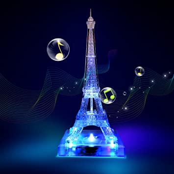 Eiffel Tower Deluxe 3D Crystal Puzzle