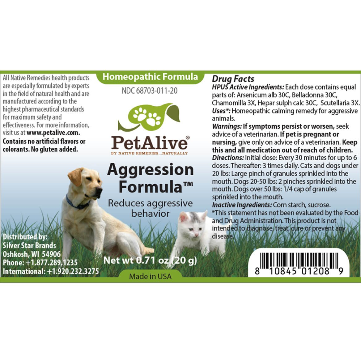 PetAlive Aggression Formula and PetCalm ComboPack