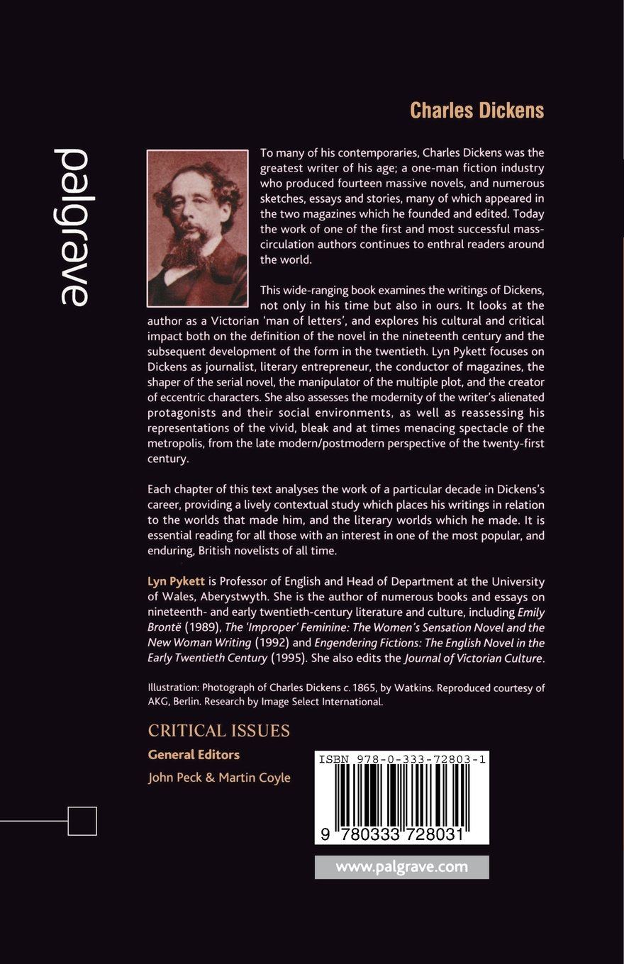 Amazon Com Charles Dickens Critical Issues 9780333728031 Lyn