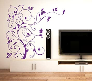 a3638860a9c Buy Decals Design  Floral Vine  Wall Sticker (PVC Vinyl