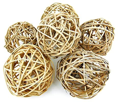 Amazon Set Of 400 Natural Willow Decorative Balls 400 40040040 Inch Stunning Natural Decorative Balls