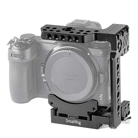SMALLRIG Z7 Media Jaula para Nikon Z6 / Z7, Media Jaula con ...