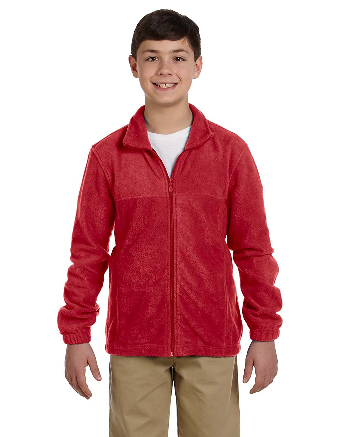 Harriton Youth 8 oz. Full-Zip Fleece M990Y