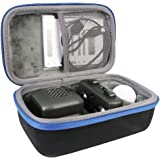 Co2Crea Hard Travel Case for Boxer Interactive A.I. Robot Toy Personality & Emotions (Black Case + Blue Zipper)