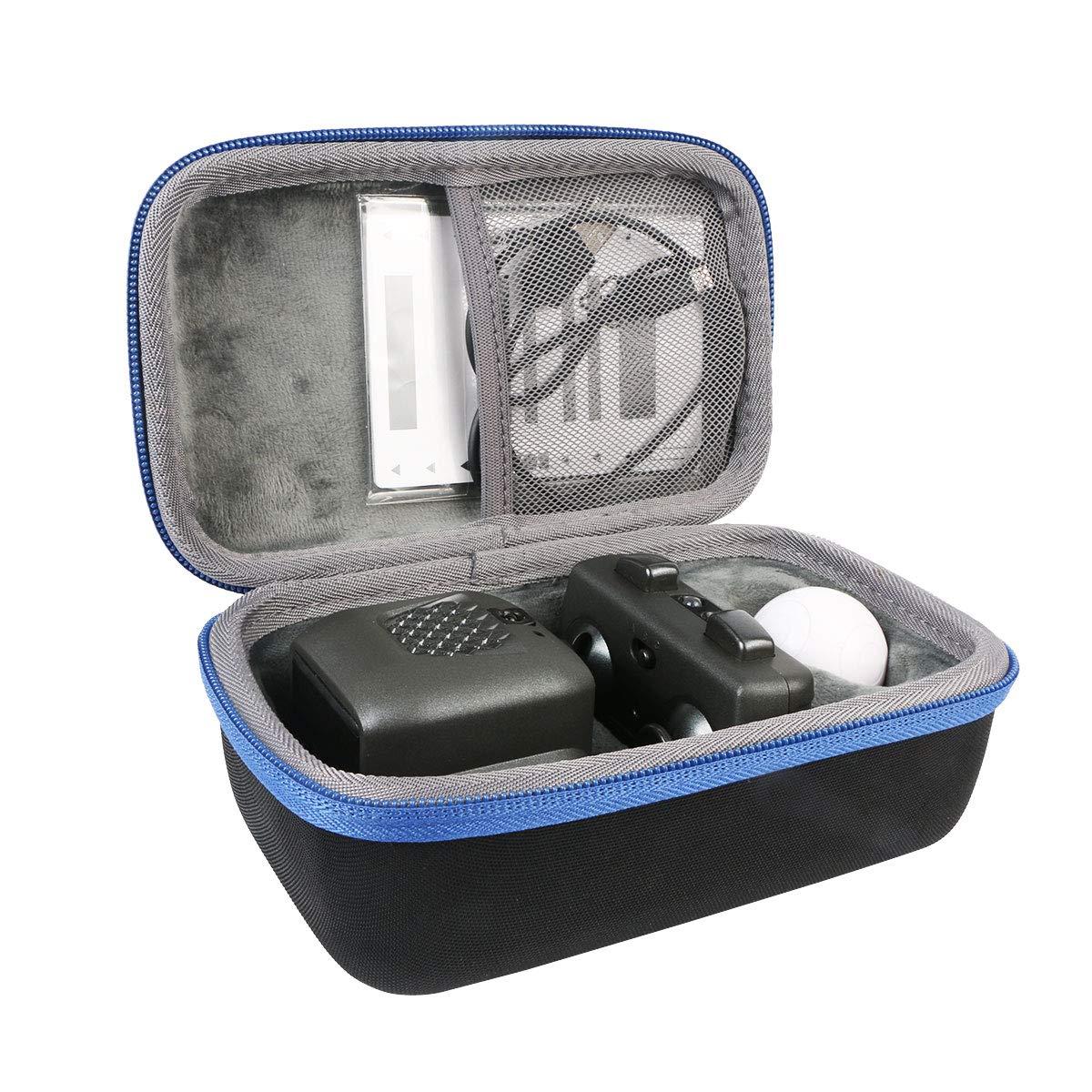 co2CREA Hart Reise Tasche Fü r Boxer 6045396' / Boxer 6045394' Online Solid Spielzeug (Black Tasche Blue Reiß verschluss)