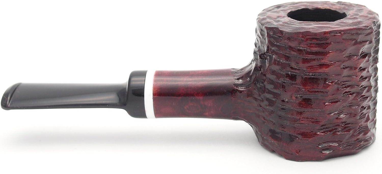 Mr. Brog Poker Tobacco Pipe - Model No: 62 Dwarf Hammer Mahogany - Pear Wood Roots - Hand Made
