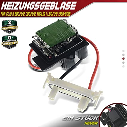 Ventilador Regulador Volver Stand ventiladores para Clio II BB0/1 ...