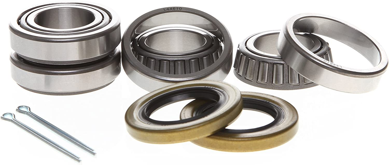 REPLACEMENTKITS.COM - 2 Pack Trailer Bearing & Seal Kit 1 Inch 1.000 Spindles on Axles Rated for up to 2000 lbs. -