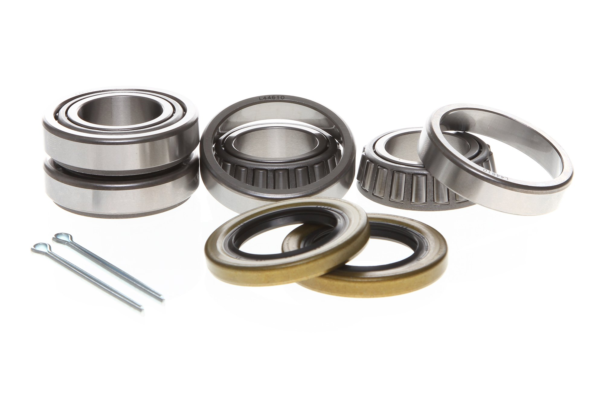 REPLACEMENTKITS.COM - 2 Pack Trailer Bearing & Seal Kit 1 Inch 1.000 Spindles on Axles Rated for up to 2000 lbs. - by REPLACEMENTKITS.COM