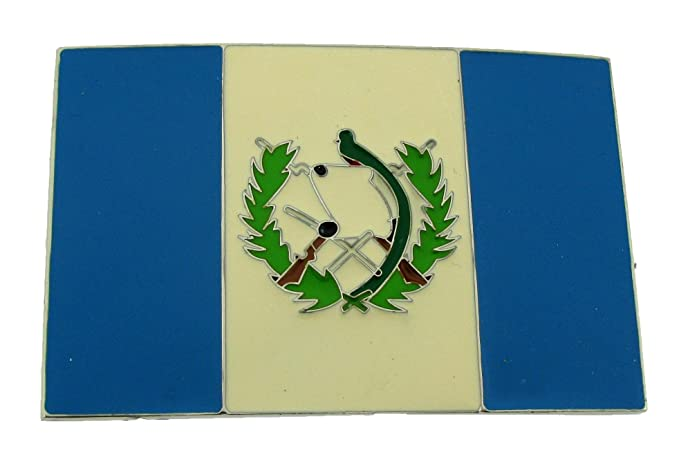 Amazon Guatemala Country Flag Belt Buckle Guatemalan Gift