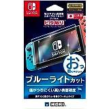 【任天堂ライセンス商品】貼りやすい高硬度ブルーライトカットフィルム ピタ貼り for Nintendo Switch【Nintendo Switch対応】