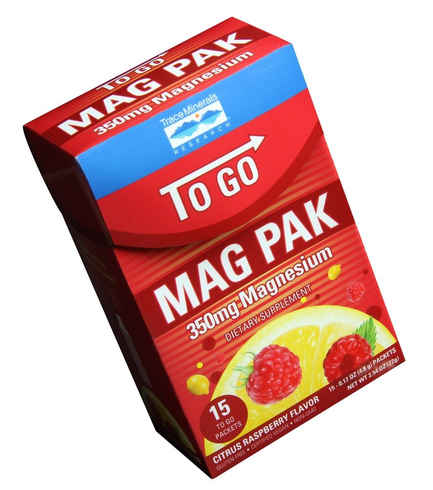 Amazon.com: to Go MAG PAK Trace Minerals 15 Packets Box: Health & Personal Care