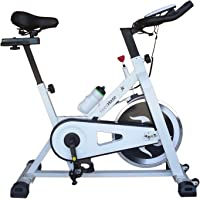 Fitness House Fh707, Bicicletta Indoor Unisex Adulto, Bianco, Standard