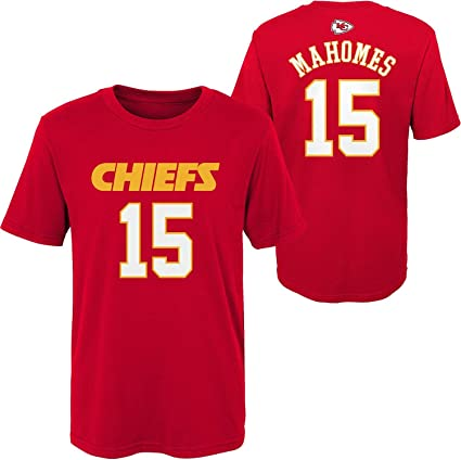 Herren T-Shirt American Football Uniform Kansas City Chiefs Mahomes #15 Football Trikots Gruby Tee Shirts