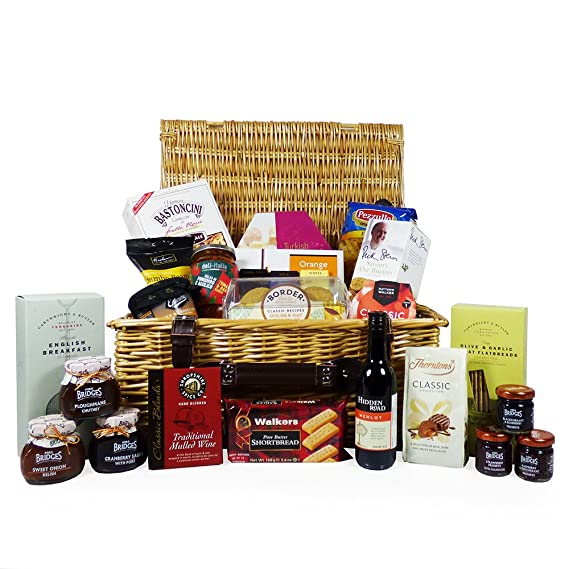 Christmas Hamper Ideas.The Traditional Wicker Food Gift Hamper 25 Items Gift Ideas For Valentines Christmas Birthday Wedding Anniversary And Corporate