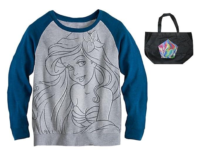 016f6e5cba Disney Ariel The Little Mermaid Womens' Lightweight Sweatshirt ...