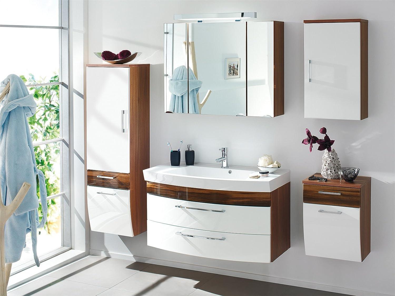 badschrank holz wei. Black Bedroom Furniture Sets. Home Design Ideas