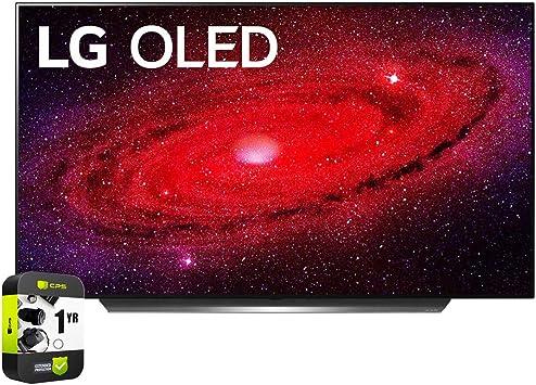 LG OLED55CXPUA Alexa Built-In CX 55″ 4K Smart OLED TV (2020)