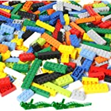 Brickyard Building Blocks 1,100 Piece Building Bricks Toy - Bulk Block Set with 154 Roof Pieces, 2 Free Brick Separators…