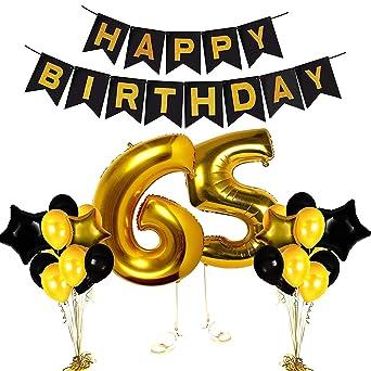 65 Anniversario Di Matrimonio.Swq Decorazioni Durevoli Per 65 Compleanno Anniversario