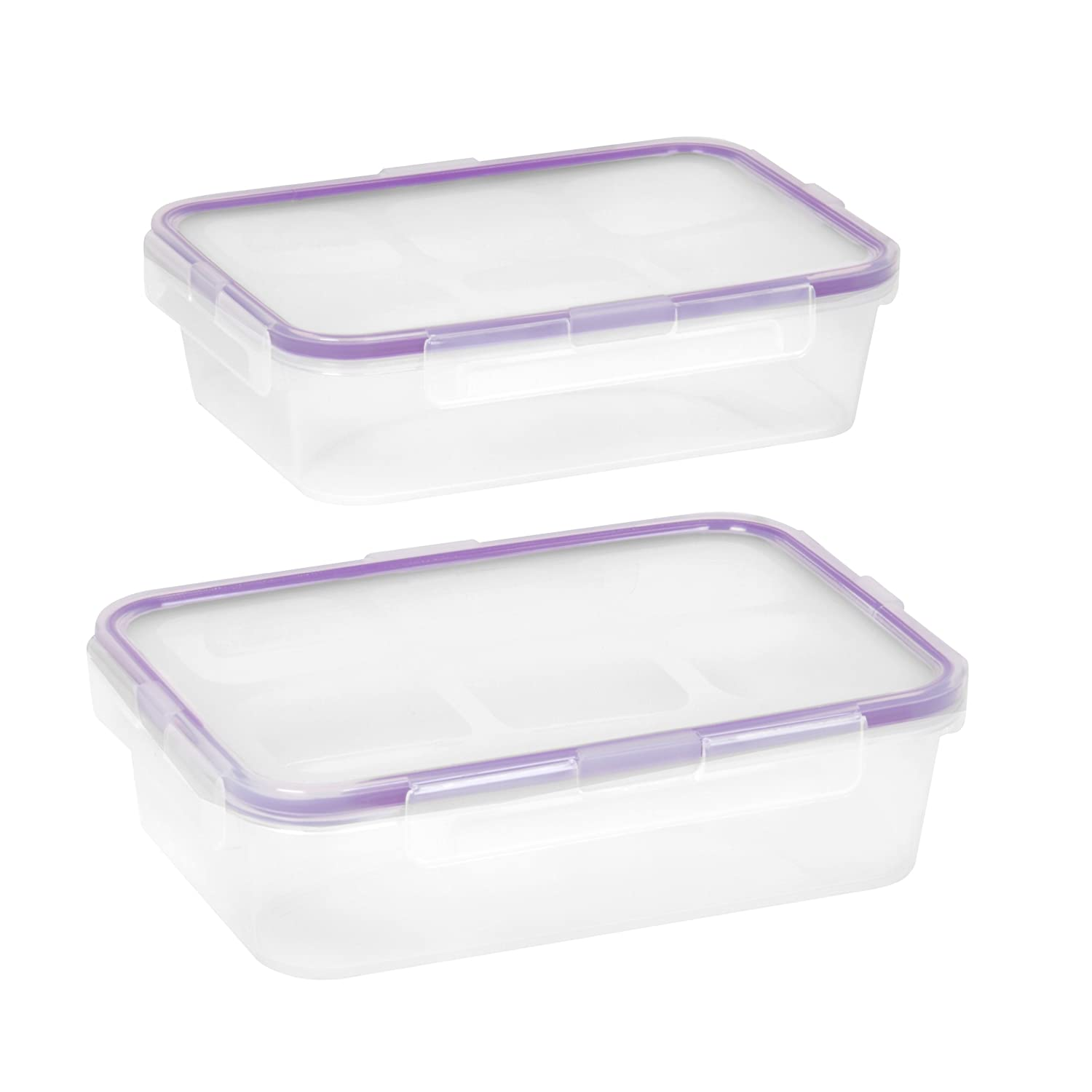 Snapware Airtight 4.5-Cup Rectangular Food Storage Container Set (4-Piece)