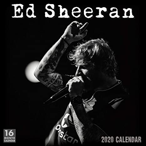 Ed Sheeran Tour 2020.Ed Sheeran 2020 Calendar Sellers Publishing Inc