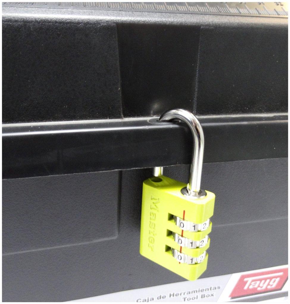 Tayg Werkzeugkasten aus Kunststoff Nr.33 Werkzeugkoffer No 33//480 x 258 x 255 mm//schwarz-rot