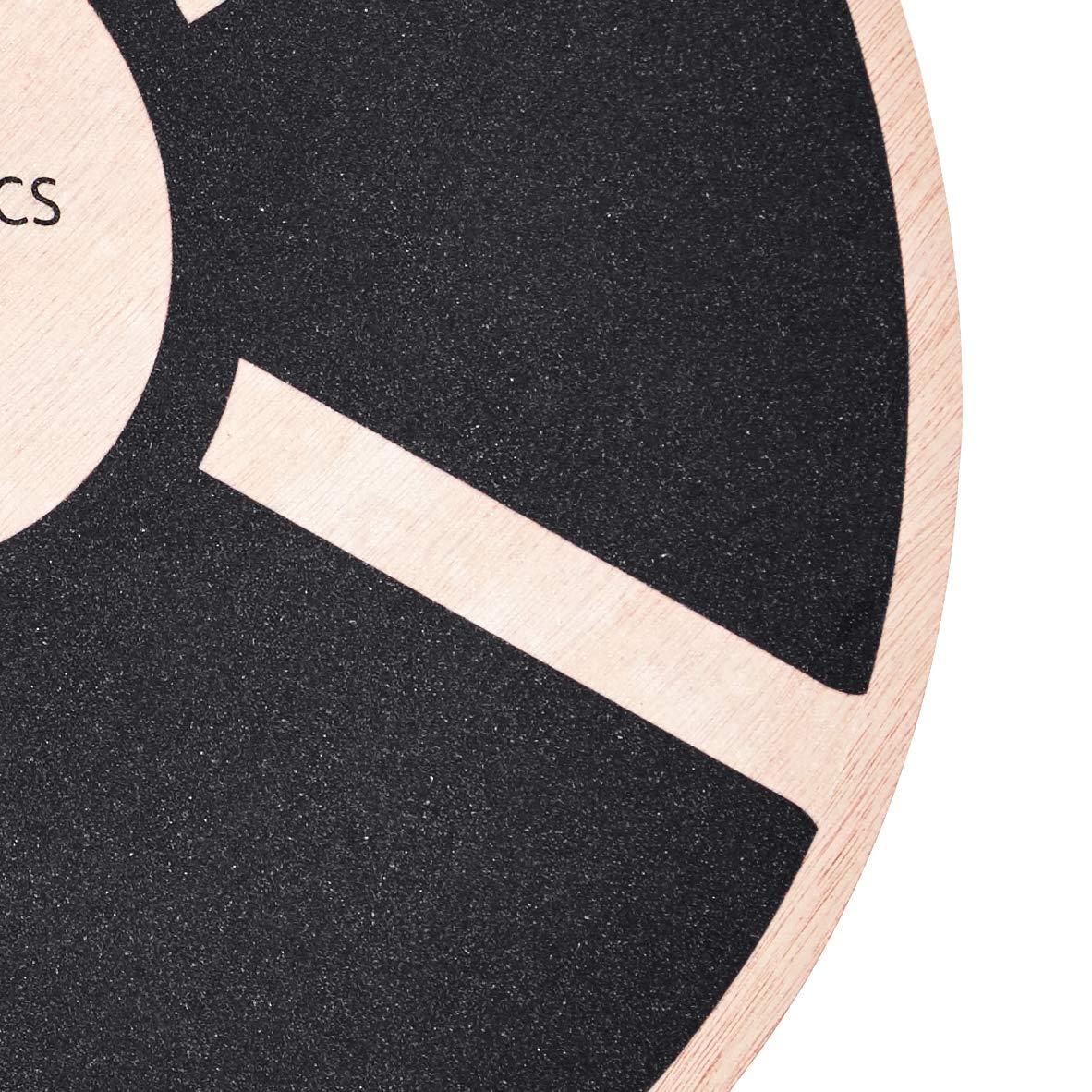 Basics oscilante Tablero de equilibrio de madera