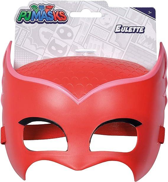 Simba PJ Masks 109402092 - Máscara de búho, con goma elástica, para disfraz, 20 cm, para niños a partir de 3 años