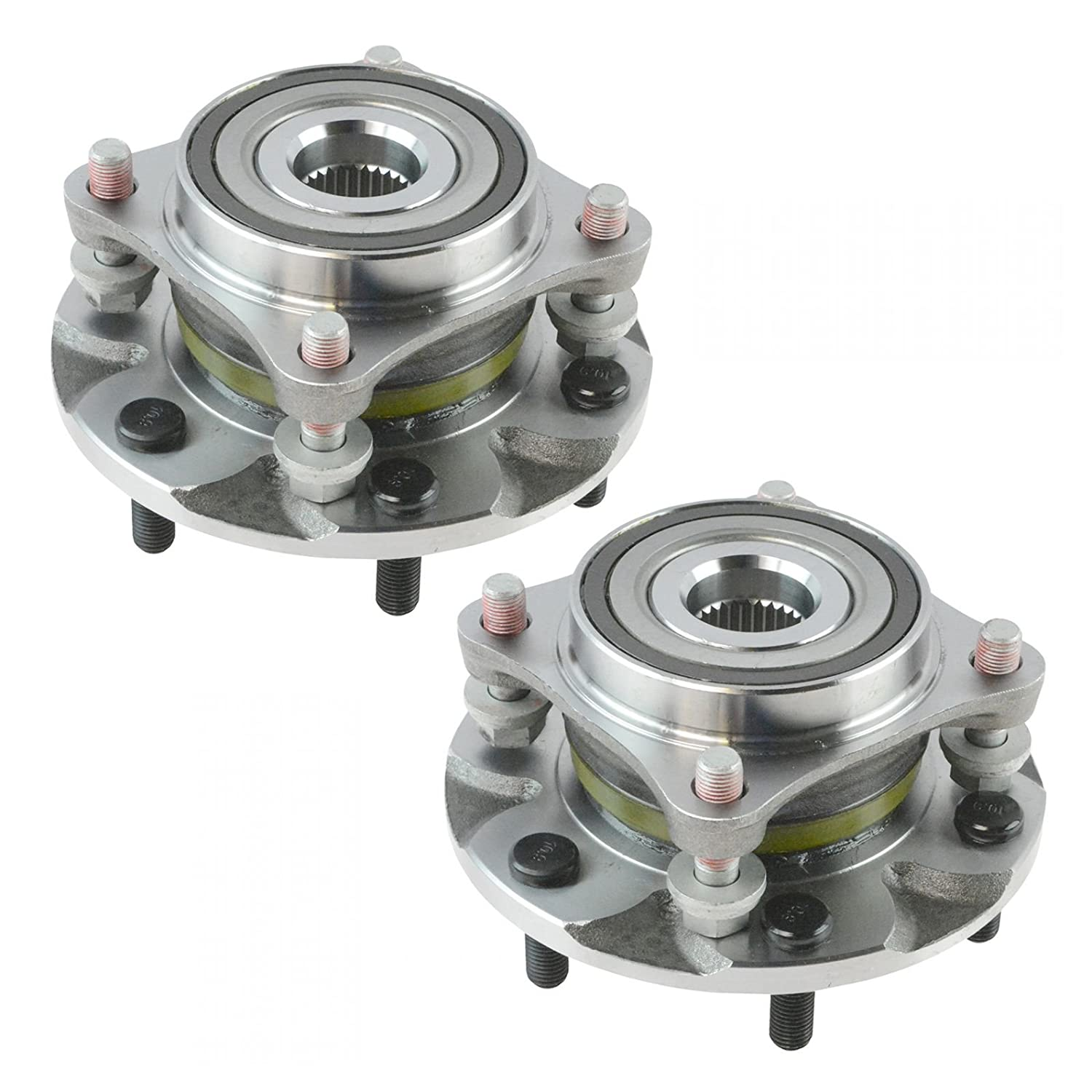 Front Wheel Hub Bearing Assembly Driver Passenger Pair for Tacoma 4Runner FJ AM Autoparts