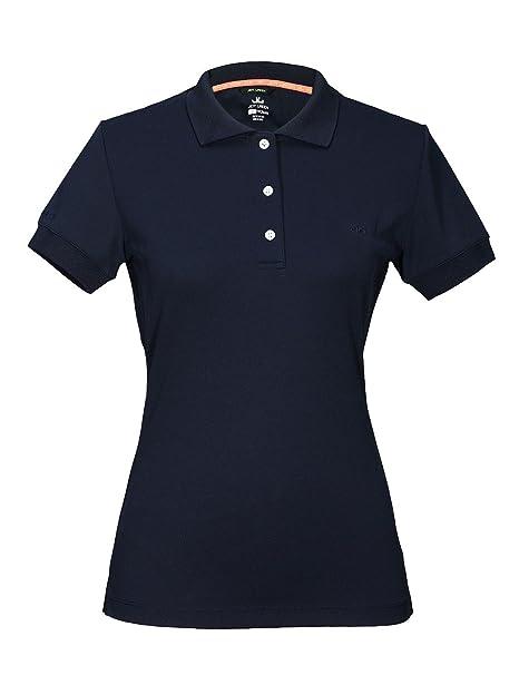 9b1a9275a70715 Jeff Green Damen Atmungsaktives Funktions Poloshirt Cadet  Amazon.de ...