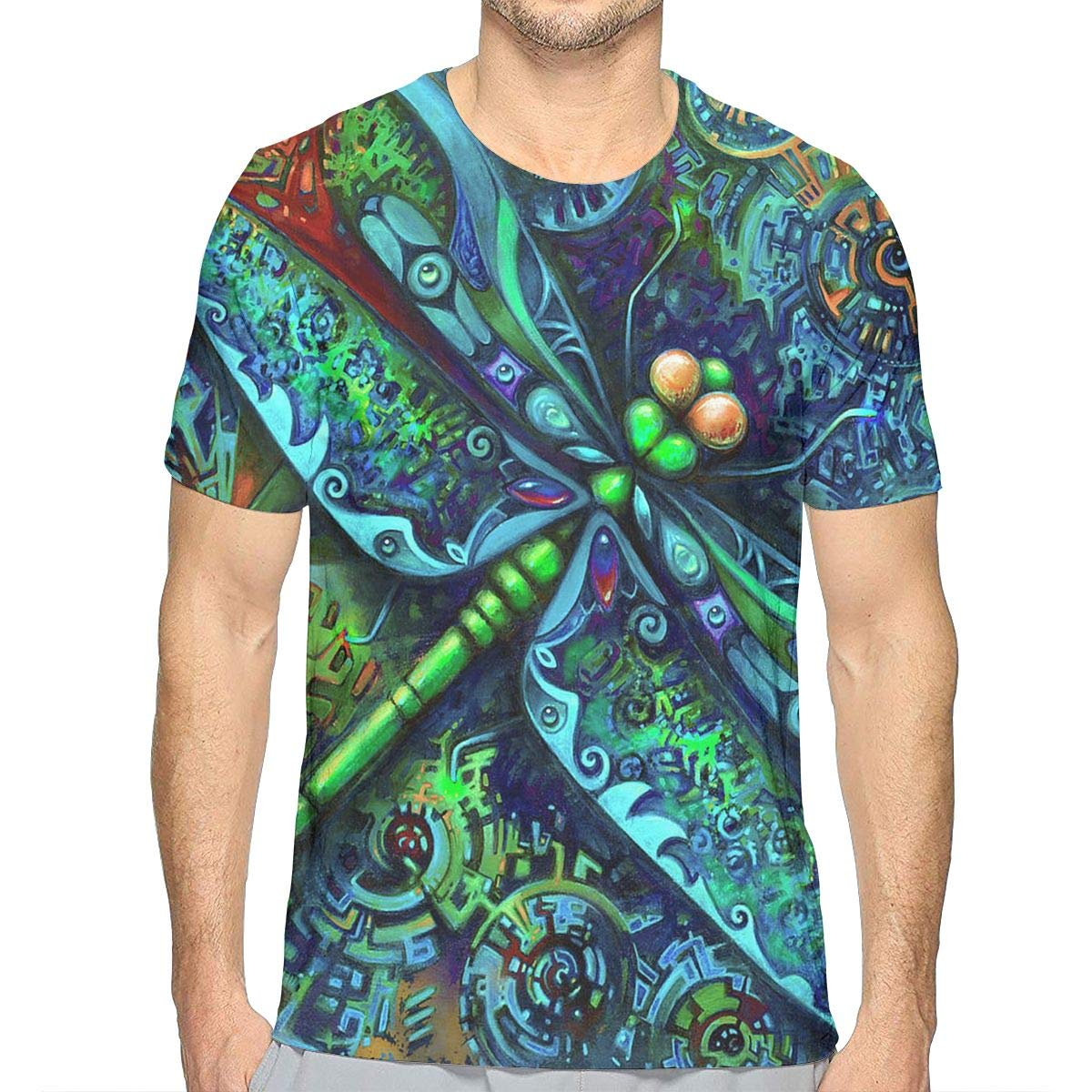 Short Sleeve Shirt Tops for Men Boys Teens Adult, Regular Big and Tall Sizes