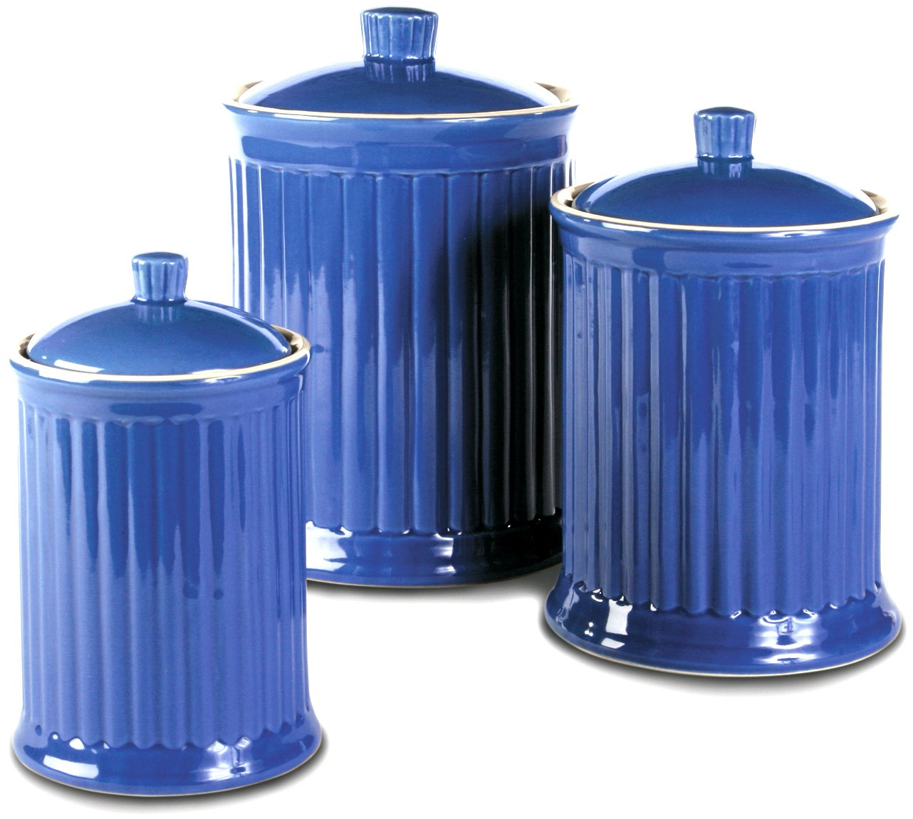 amazon com omni simsbury canisters set of 3 home kitchen