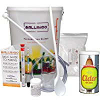 Balliihoo® Basic Homebrew Starter Set - On Its Own Or With A Choice Of Ingredient Kits & Sugar