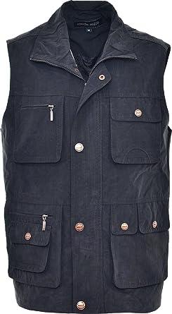 e730aa960e Miss Trendy Mens Mode Mille New Multi Pockets Body Warmer Waistcoat Hiking  Safari Hunting Fishing Gilet  Amazon.co.uk  Clothing