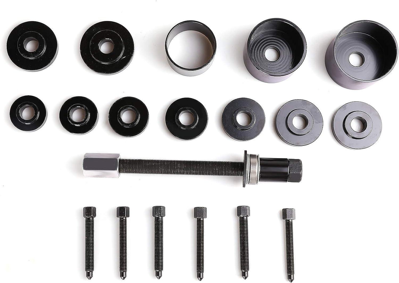 Sfeomi Radlagerwerkzeug 19 TLG Radlager Radnabe Abzieher Ausdr/ücker Montage Demontage Radnabenentfernung Werkzeugsatzentfernung