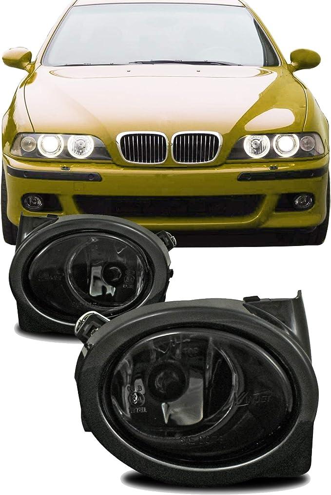 Jom Car Parts Car Hifi Gmbh 82875 Nebelscheinwerfer Smokeglas Mit Rahmen Auto