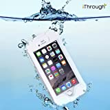 iPhone 6S Plus Wasserdichte Schutzhülle,iThrough™ iPhone 6 Plus Wasserdichter Schutzhülle Hülle, Staubdicht, StoßDichte Hülle, Schwierige Pflicht Tragende Decke, Schutzhülle Für iPhone 6S Plus/6 Plus