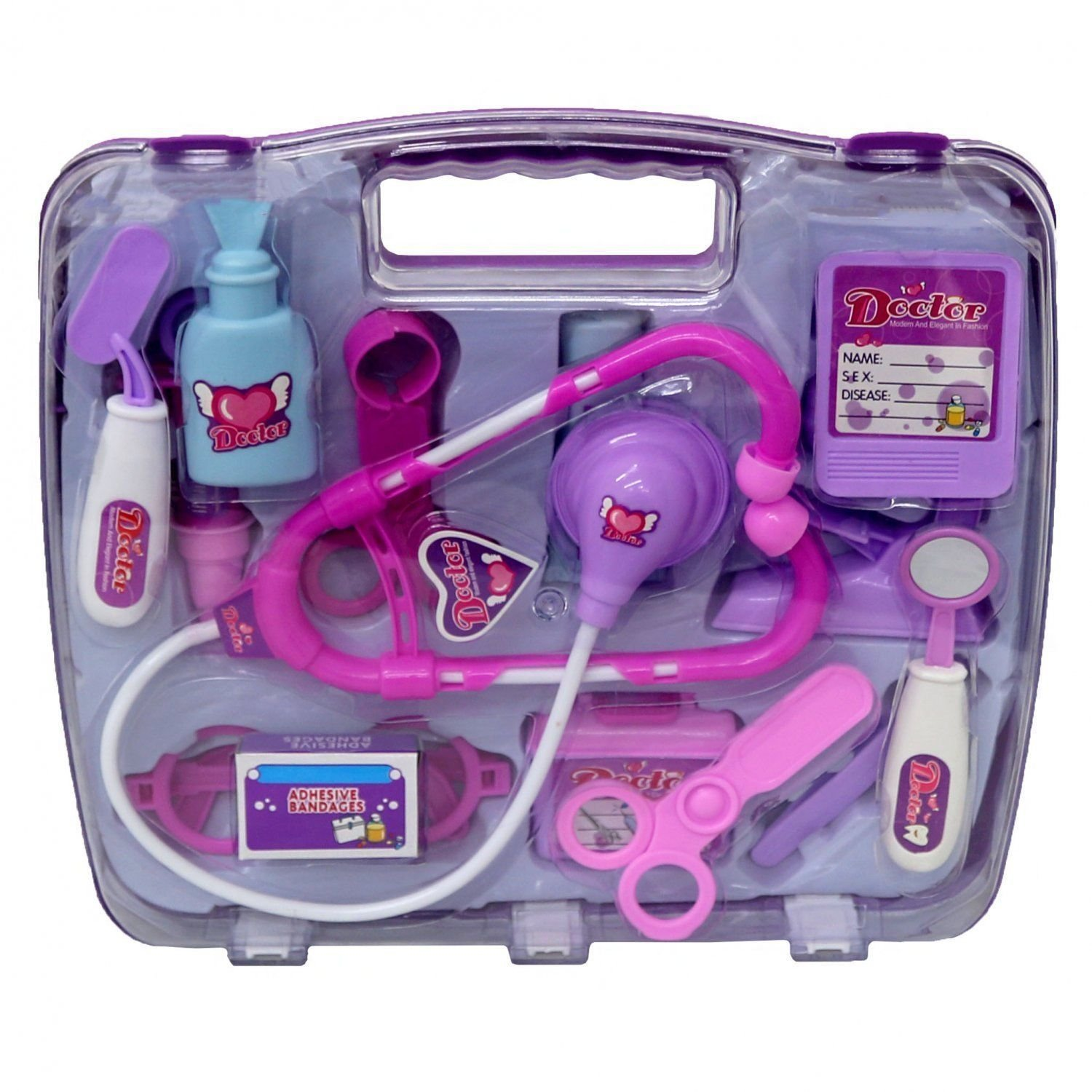 AK Pink Doctor Medical Role Play Toy Set